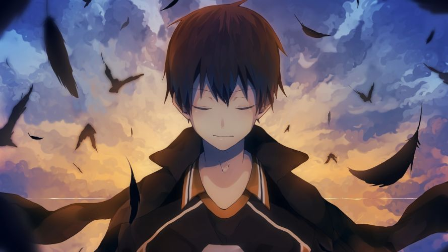 boy Tobio Kageyama Haikyuu Anime wallpaper
