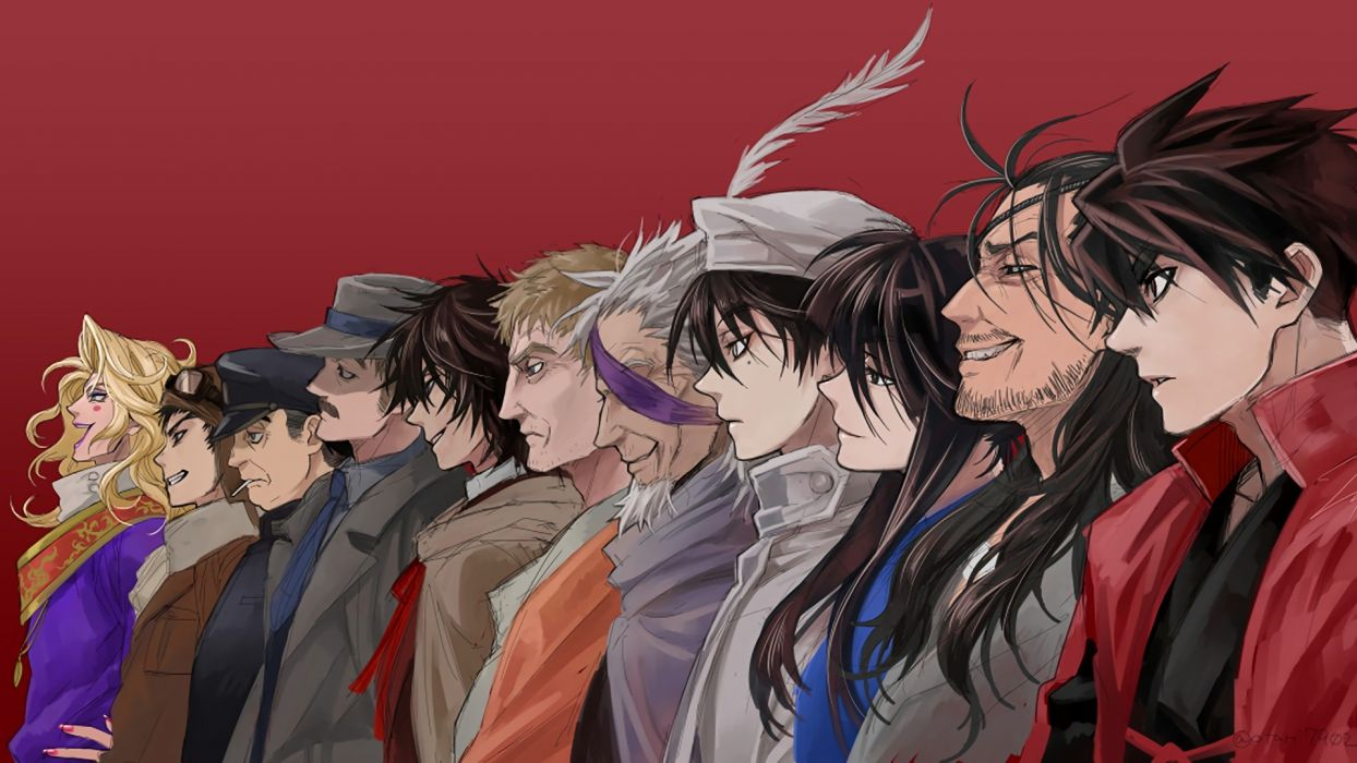 Drifters Anime Characters group wallpaper