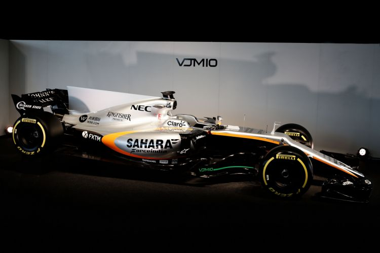 Force India VJM10 Formula One 2017 wallpaper