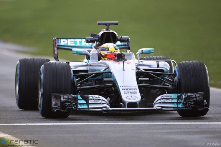 Mercedes-AMG Petronas W08 Formula One 2017 wallpaper