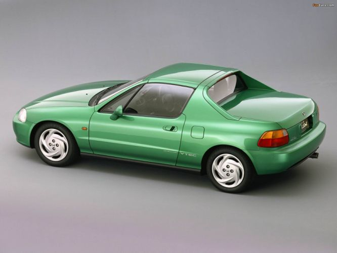 honda crx 1992 coche japon verde wallpaper