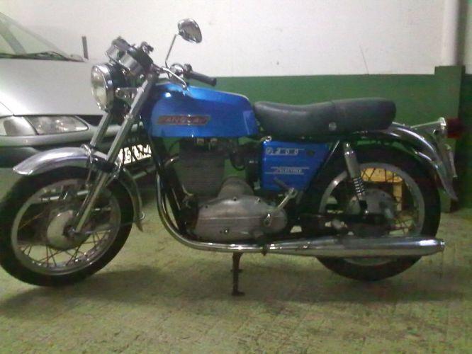 moto sangla azul wallpaper