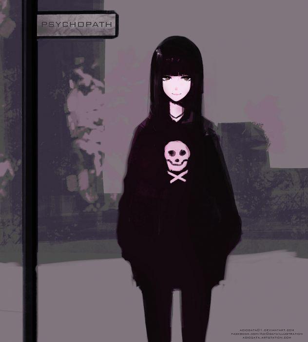 Smile Original Anime Girl Cute Beautiful Wallpaper 1547x1714