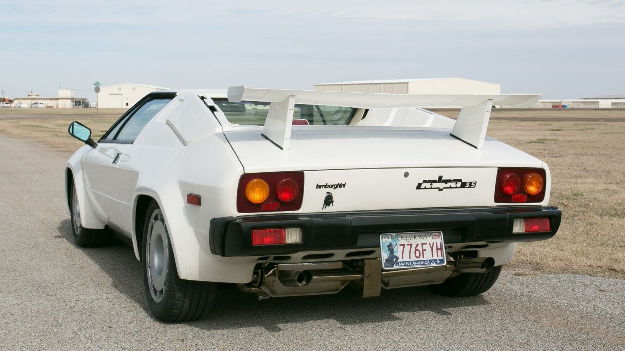 1988 LAMBORGHINI JALPA cars white wallpaper