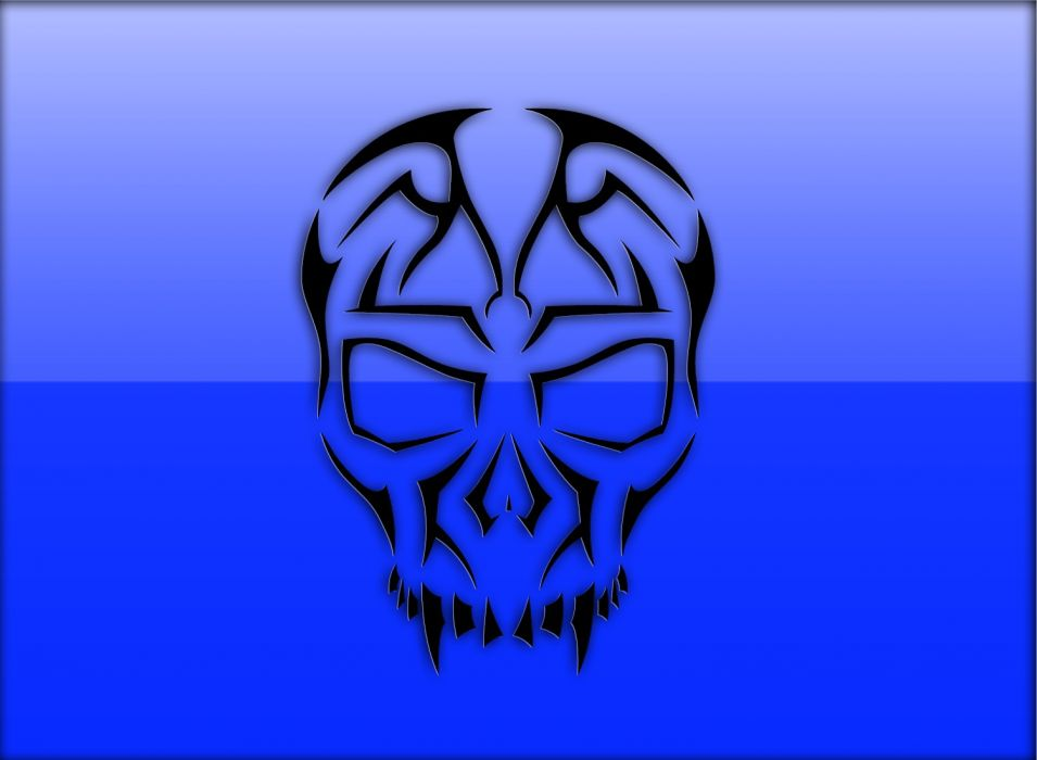Blue Death wallpaper