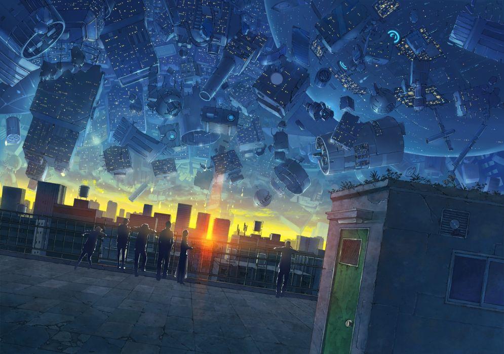group original anime sky beauty wallpaper