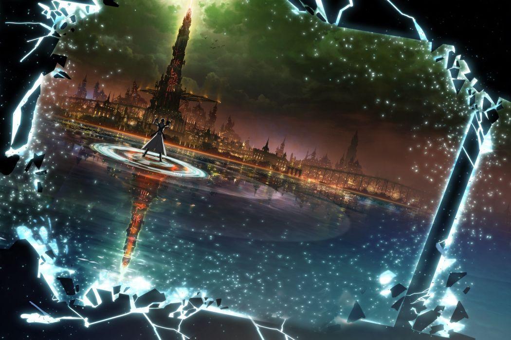 original sword art online anime series wallpaper