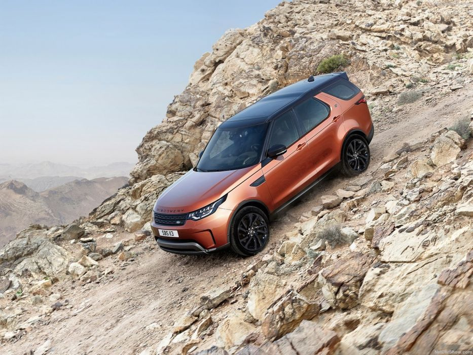 Land Rover Discovery cars suv 2017 wallpaper