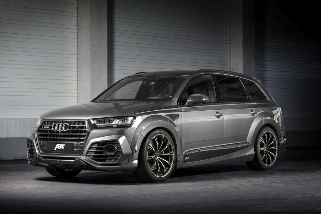 Audi SQ7 ABT cars suv modified 2017 wallpaper