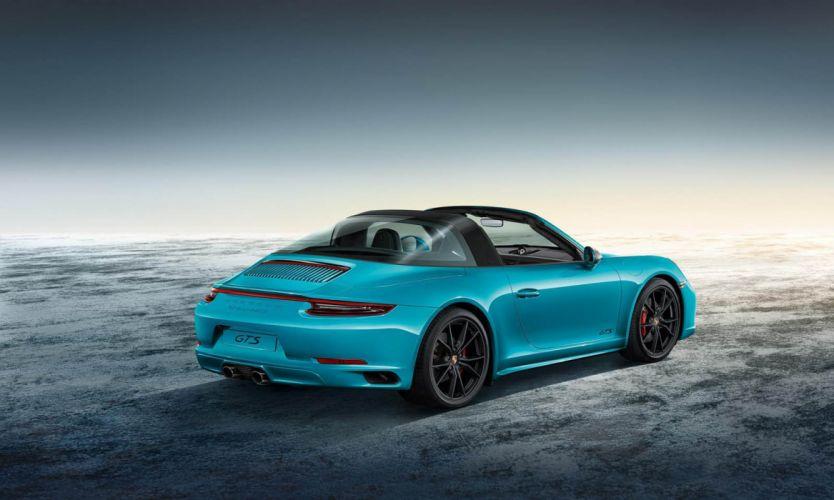 Porsche 911 Targa (4) GTS SportDesign cars 2017 wallpaper