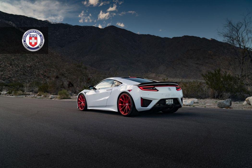 Acura NSX hre wheels cars wallpaper