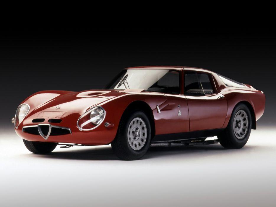 Alfa Romeo Giulia TZ2 wallpaper