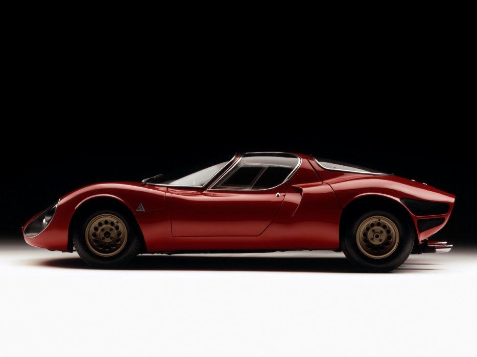 Alfa Romeo Tipo 33 Stradale wallpaper