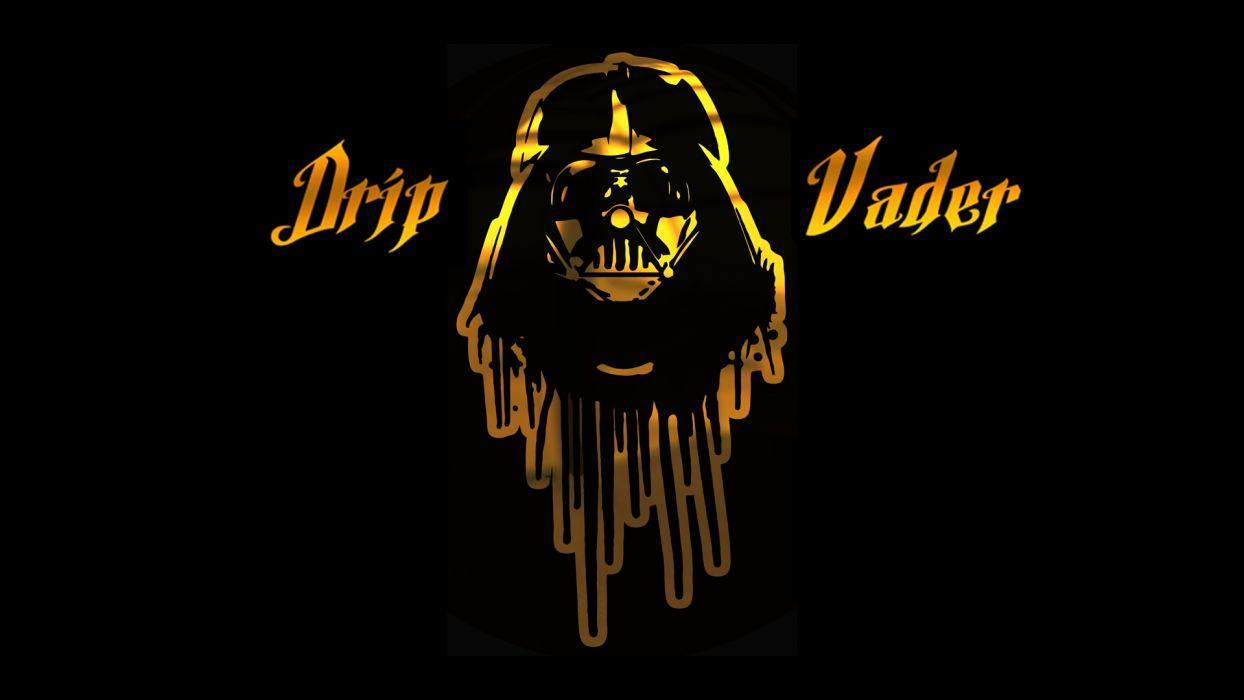 DripVaderGoldAndBlackBackground-1920x1080-72-A wallpaper