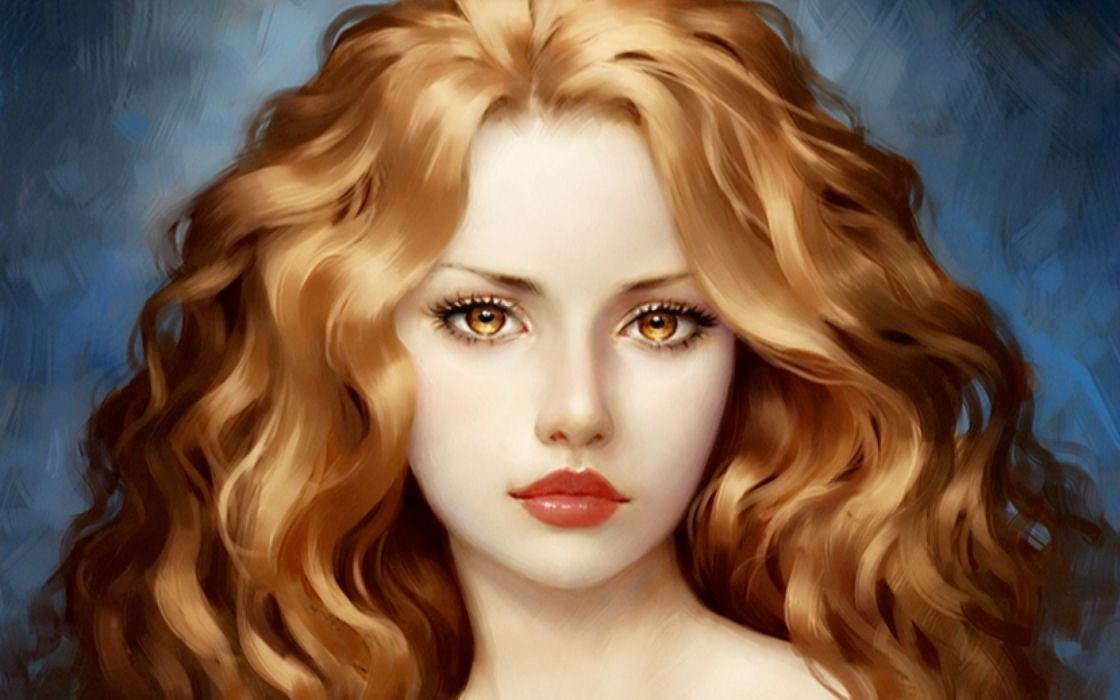 fantasy original artistic woman girl emale wallpaper