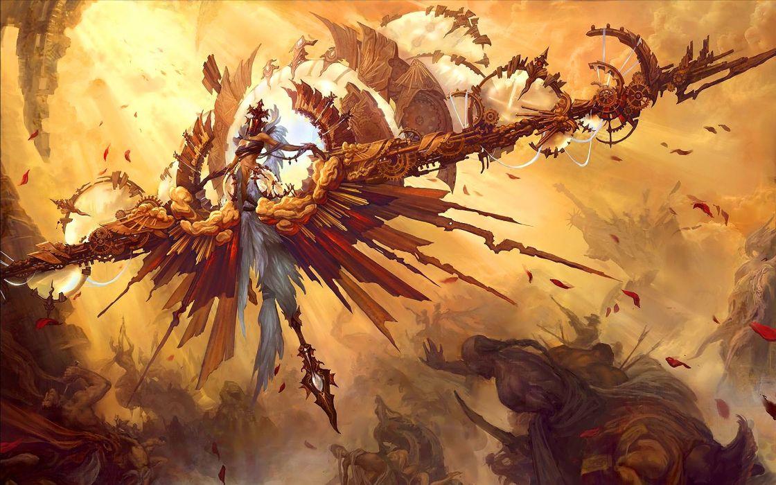 Angel fantasy art wallpaper