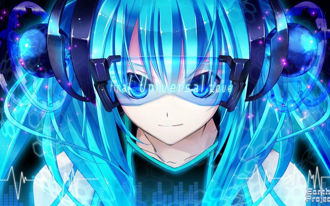 anime girl vocaloid miku wallpaper