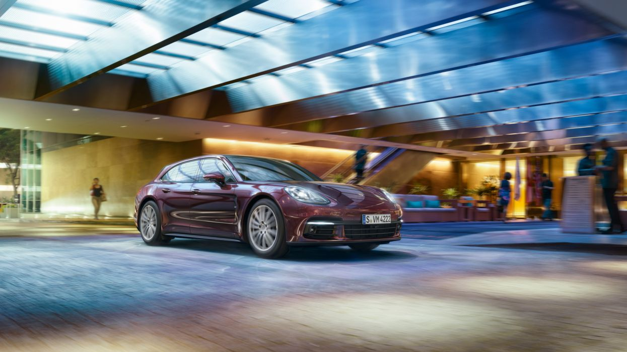 Porsche Panamera 4 Sport Turismo 971 wallpaper