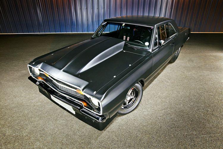 1969 dodge dart cars drag black wallpaper