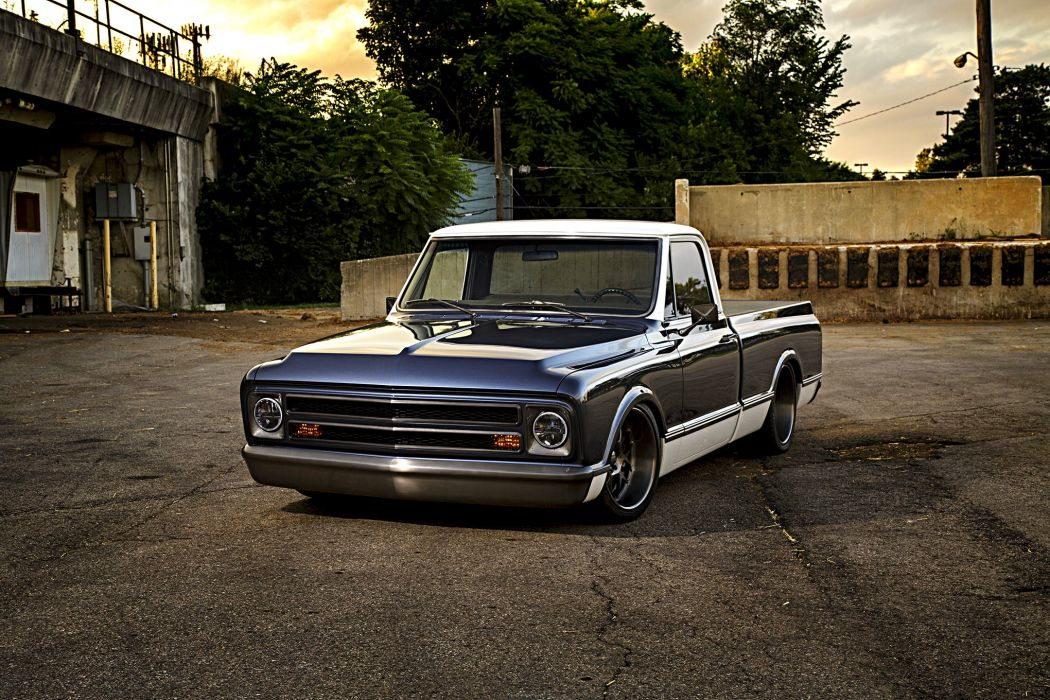 1967 Chevy C10 truck pickup wallpaper
