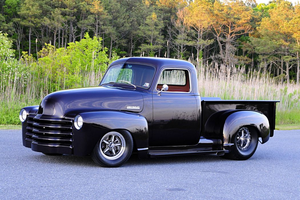 1948 Chevy truck pickup wallpaper