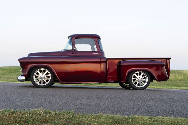 1955 Chevy truck pickup wallpaper
