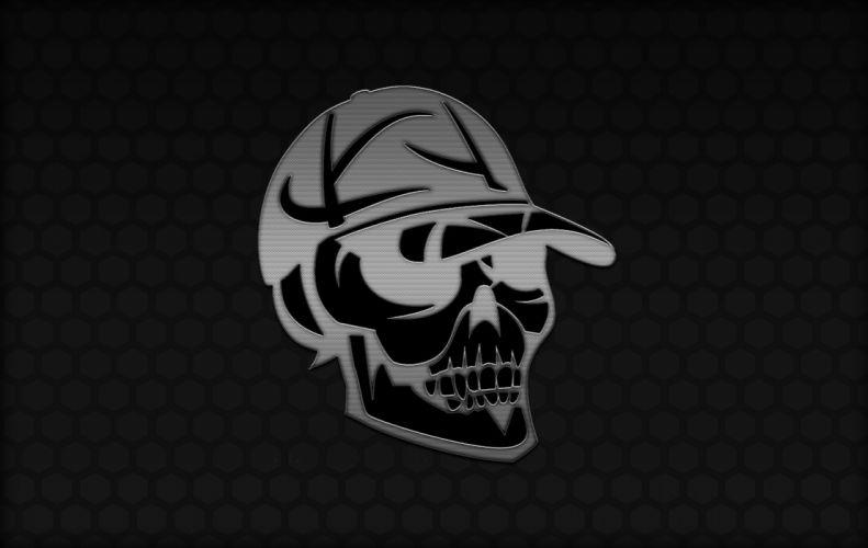 Chrome SkullCap wallpaper