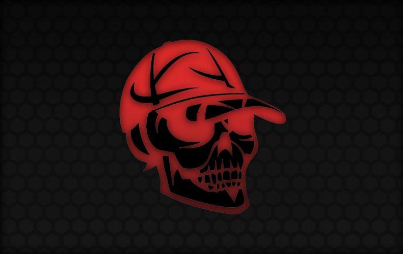 Red SkullCap wallpaper