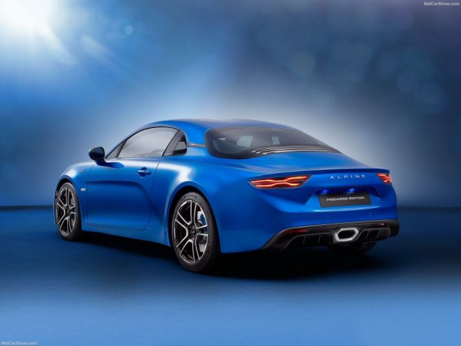 2017 Alpine A110 cars coupe blue wallpaper