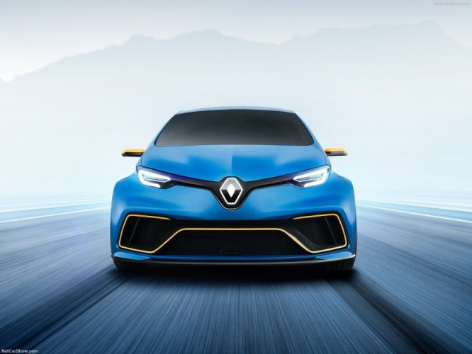 Renault 2017 Zoe e-Sport Concept cars wallpaper