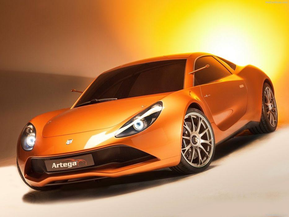 Artega Scalo Superelletra Concept cars wallpaper