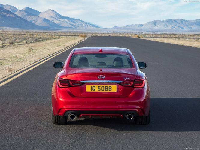 Infiniti 2017 Q50 cars sedan red wallpaper