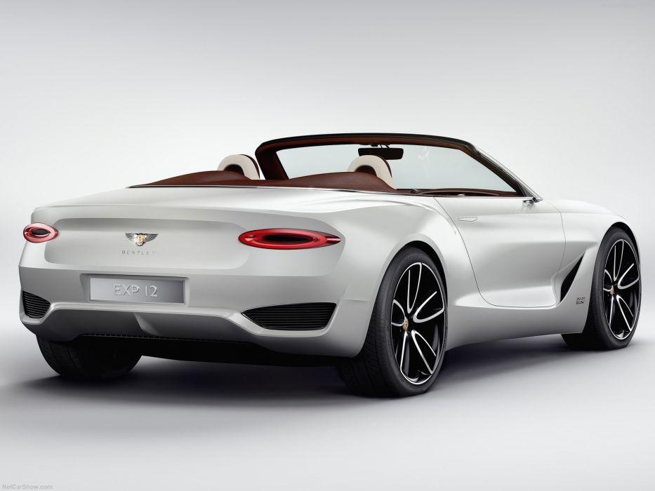 Bentley 2017 EXP-12 Speed (6e) Concept cars wallpaper