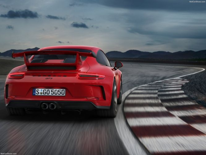 Porsche 2017 911 991 GT3 cars red wallpaper