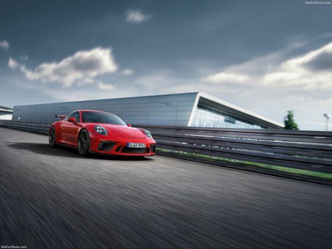 Porsche 2017 911 991 GT3 cars red wallpaper