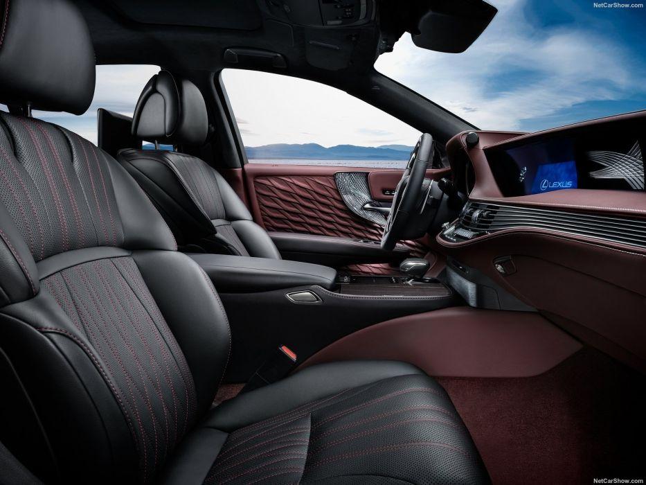 Lexus 2017 LS-500h cars sedan wallpaper