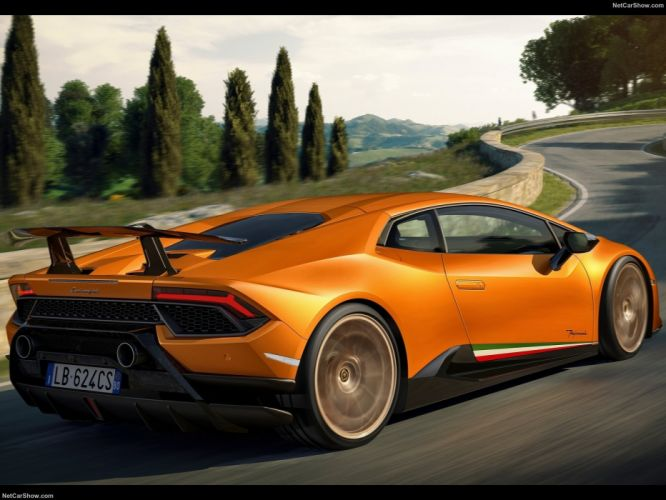 Lamborghini Huracan Performante cars supercars 2017 wallpaper