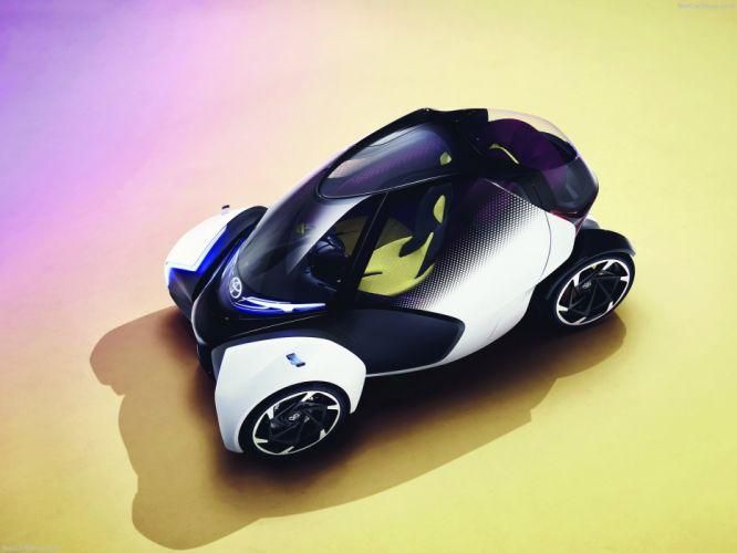 Toyota 2017 i-TRIL Concept cars wallpaper