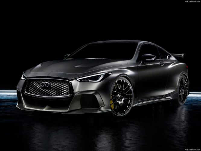 Infiniti 2017 Q60 Project Black-S Concept cars wallpaper