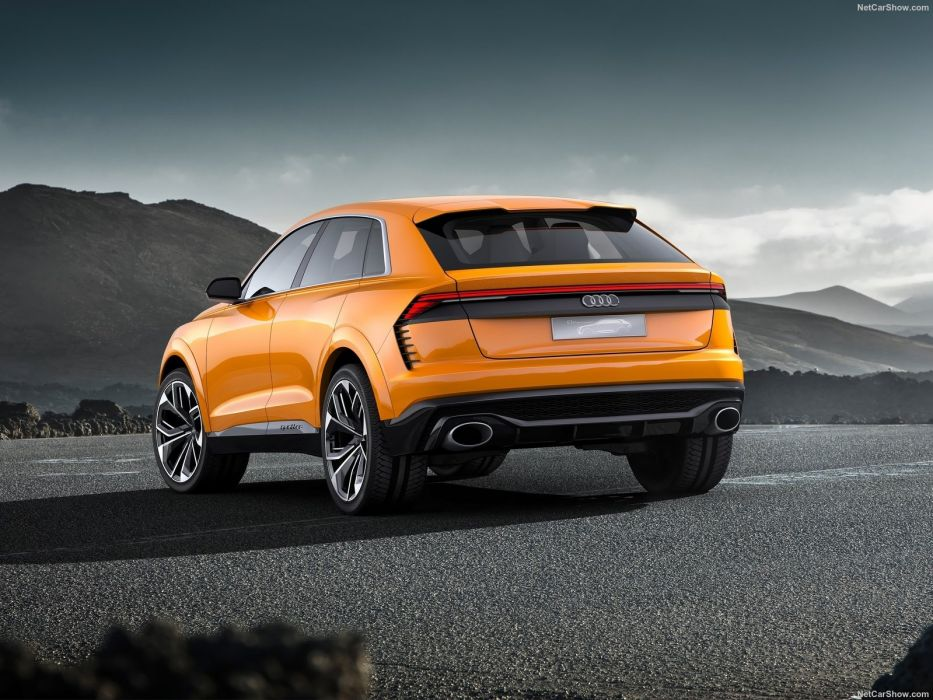 Audi 2017 (Q8) Sport Concept cars wallpaper