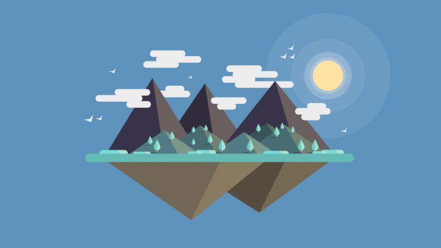 Mountain Dreams wallpaper