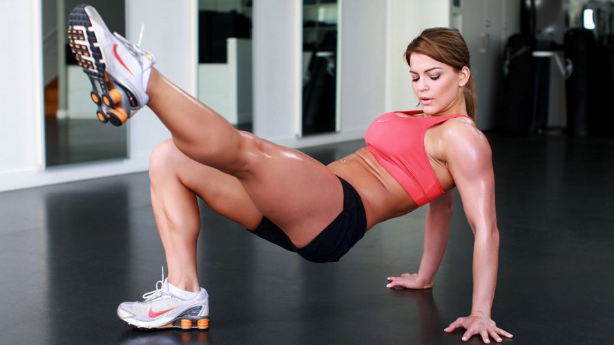 SPORTS girls-fitness-healthy-heating-workouts-legs wallpaper