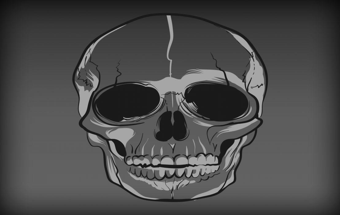 Graystone Skull wallpaper