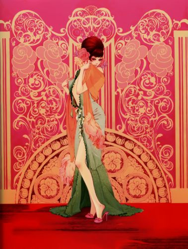 dress pixiv girls collection original anime beautiful wallpaper