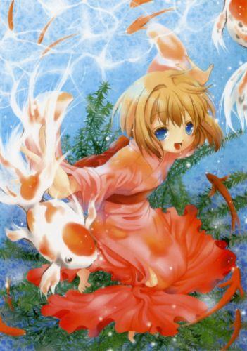 fish pixiv girls collection original anime beautiful wallpaper