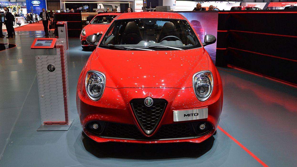Alfa Romeo Mito Veloce Geneva auto show 2017 wallpaper
