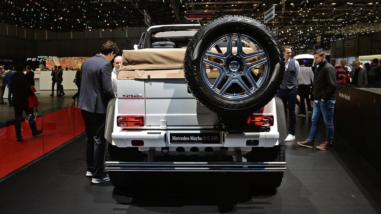 Mercedes Maybach G650 Landaulet Geneva auto show 2017 wallpaper