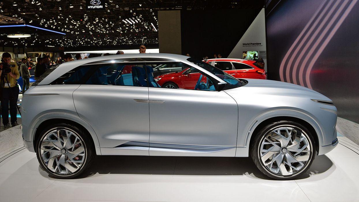 Hyundai ( FE) Fuel Cell Concept Geneva auto show 2017 wallpaper