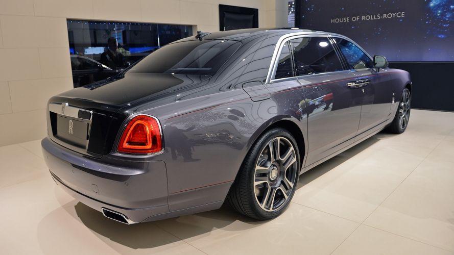 Rolls Royce Ghost Elegance Geneva auto show 2017 wallpaper