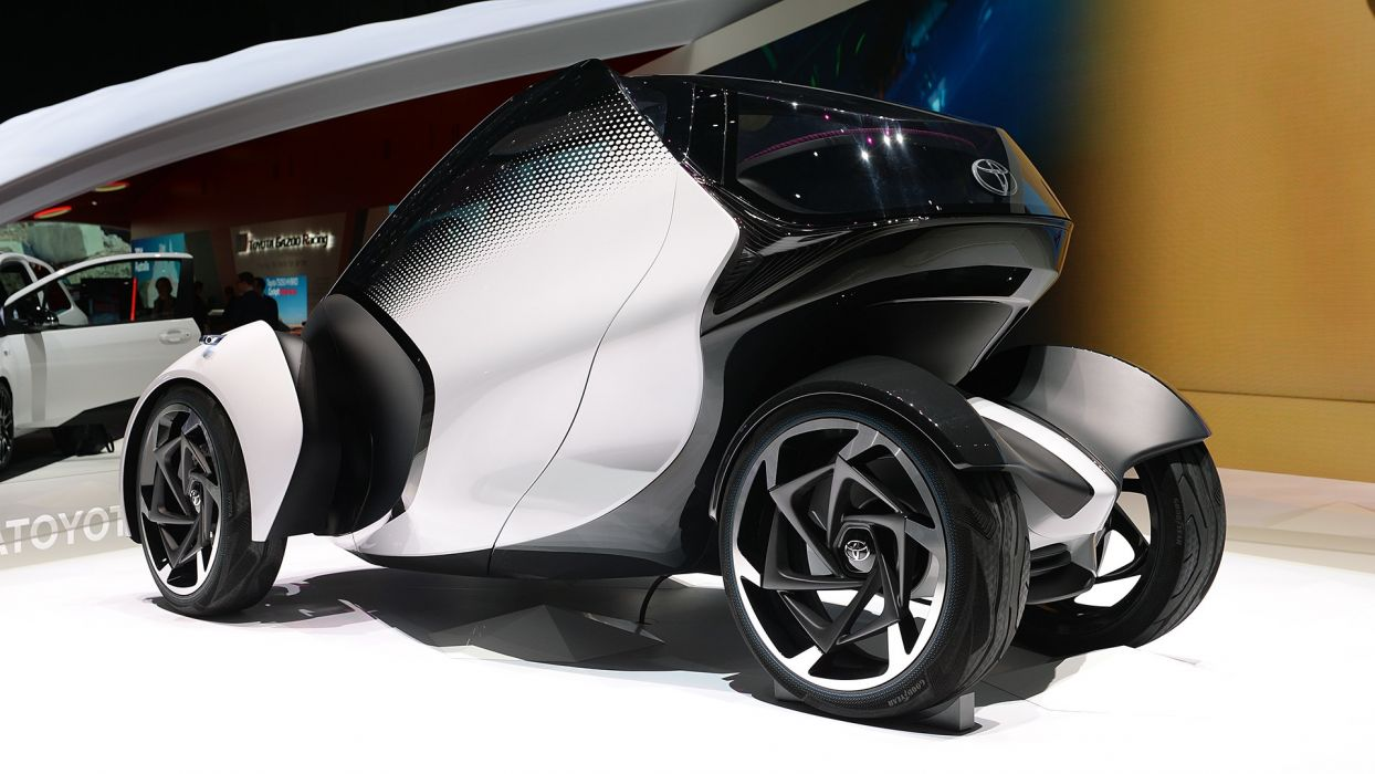 Toyota i-TRIL Concept Geneva auto show 2017 wallpaper